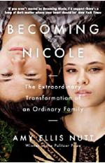 The cover of _Becoming Nicole_